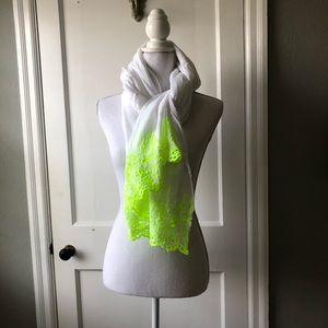Linen summer wrap